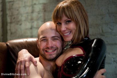 Photo number 14 from Madeline the Mind Fucker shot for Divine Bitches on Kink.com. Featuring Maitresse Madeline Marlowe  and David Chase in hardcore BDSM & Fetish porn.