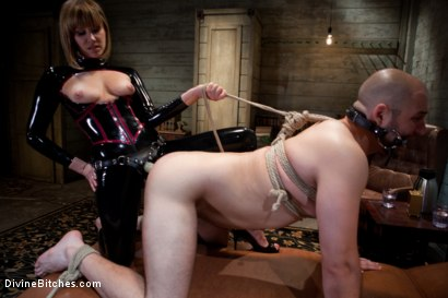 Photo number 7 from Madeline the Mind Fucker shot for Divine Bitches on Kink.com. Featuring Maitresse Madeline Marlowe  and David Chase in hardcore BDSM & Fetish porn.