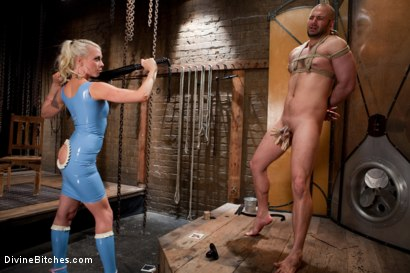 Photo number 2 from Chastity on the Rocks: David Chase Episode 2 shot for Divine Bitches on Kink.com. Featuring Lorelei Lee and David Chase in hardcore BDSM & Fetish porn.