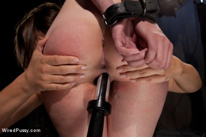 Photo number 7 from 18 Year Old Iona has her First Experience with a Girl on Camera with Two Doms shot for Wired Pussy on Kink.com. Featuring Bobbi Starr and Iona Grace in hardcore BDSM & Fetish porn.