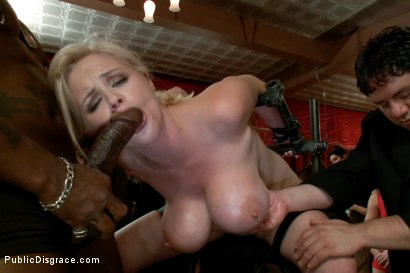 Photo number 10 from Big Tits, Big Black Dicks shot for Public Disgrace on Kink.com. Featuring Katie Kox and Nat Turnher in hardcore BDSM & Fetish porn.