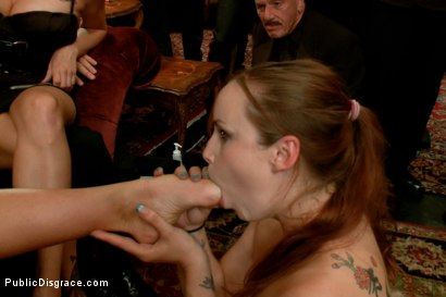 Photo number 2 from Big Tits, Big Dicks shot for Public Disgrace on Kink.com. Featuring Katie Kox and Nat Turnher in hardcore BDSM & Fetish porn.
