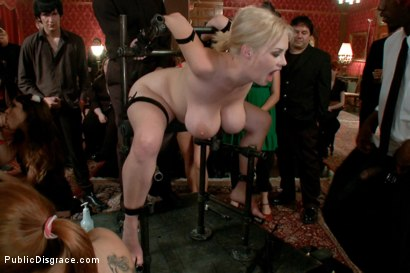 Photo number 9 from Big Tits, Big Black Dicks shot for Public Disgrace on Kink.com. Featuring Katie Kox and Nat Turnher in hardcore BDSM & Fetish porn.
