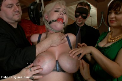 Photo number 4 from Big Tits, Big Black Dicks shot for Public Disgrace on Kink.com. Featuring Katie Kox and Nat Turnher in hardcore BDSM & Fetish porn.