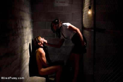 Photo number 1 from The Warden shot for Wired Pussy on Kink.com. Featuring Ariel X and Princess Donna Dolore in hardcore BDSM & Fetish porn.
