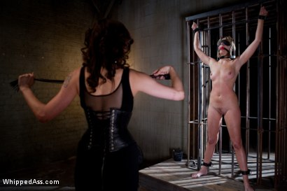 Photo number 3 from Maitresse Madeline PUNISHED and FUCKED and hazed in as director of Whipped Ass by Princess Donna! shot for Whipped Ass on Kink.com. Featuring Princess Donna Dolore and Maitresse Madeline Marlowe in hardcore BDSM & Fetish porn.