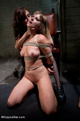 Photo number 7 from Maitresse Madeline PUNISHED and FUCKED and hazed in as director of Whipped Ass by Princess Donna! shot for Whipped Ass on Kink.com. Featuring Princess Donna Dolore and Maitresse Madeline Marlowe in hardcore BDSM & Fetish porn.
