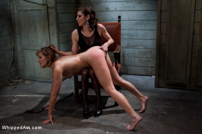 Photo number 1 from Maitresse Madeline PUNISHED and FUCKED and hazed in as director of Whipped Ass by Princess Donna! shot for Whipped Ass on Kink.com. Featuring Princess Donna Dolore and Maitresse Madeline Marlowe in hardcore BDSM & Fetish porn.