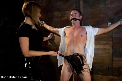 Photo number 6 from Milking Raw Multiple Orgasms shot for Divine Bitches on Kink.com. Featuring John Jammen and Maitresse Madeline Marlowe in hardcore BDSM & Fetish porn.