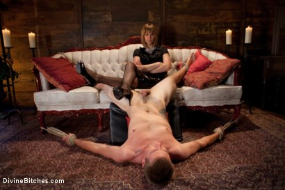 Photo number 4 from Milking Raw Multiple Orgasms shot for Divine Bitches on Kink.com. Featuring John Jammen and Maitresse Madeline Marlowe in hardcore BDSM & Fetish porn.