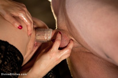 Photo number 2 from Milking Raw Multiple Orgasms shot for Divine Bitches on Kink.com. Featuring John Jammen and Maitresse Madeline Marlowe in hardcore BDSM & Fetish porn.