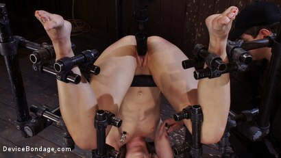 Photo number 11 from Upside-Down and Helpless shot for Device Bondage on Kink.com. Featuring Dylan Ryan in hardcore BDSM & Fetish porn.
