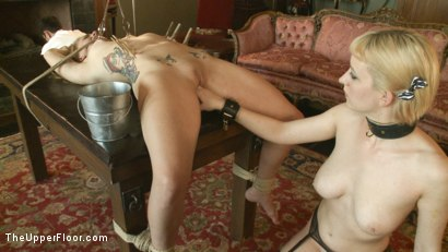 Photo number 8 from Fresh Meat: Payton Bell shot for The Upper Floor on Kink.com. Featuring Cherry Torn and Payton Bell in hardcore BDSM & Fetish porn.
