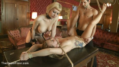 Photo number 4 from Fresh Meat: Payton Bell shot for The Upper Floor on Kink.com. Featuring Cherry Torn and Payton Bell in hardcore BDSM & Fetish porn.