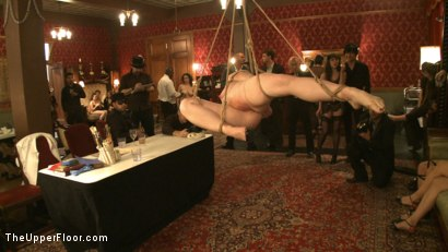 Photo number 11 from Thin Line Between Art and Sex 2 Play Party shot for The Upper Floor on Kink.com. Featuring Cherry Torn and Bella Rossi in hardcore BDSM & Fetish porn.