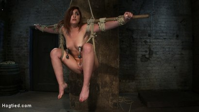 Photo number 12 from 18 Years Old, And In  Way  Over Her Head shot for Hogtied on Kink.com. Featuring Lexi Brooks in hardcore BDSM & Fetish porn.