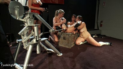 Photo number 7 from LIVE LIVE LIVE <BR> FuckingMachines launches an All LIVE month shot for Fucking Machines on Kink.com. Featuring Gia DiMarco in hardcore BDSM & Fetish porn.