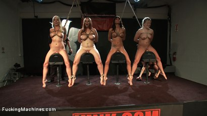 Photo number 11 from LIVE LIVE LIVE <BR> FuckingMachines launches an All LIVE month shot for Fucking Machines on Kink.com. Featuring Gia DiMarco in hardcore BDSM & Fetish porn.