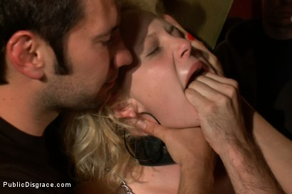 Photo number 9 from Hot Public Disgrace Member Experiences Public Sex and Bondage for the First Time shot for Public Disgrace on Kink.com. Featuring James Deen, Tommy Pistol and Clayra Beau in hardcore BDSM & Fetish porn.