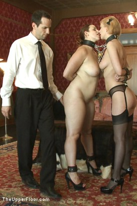 Photo number 2 from Punishment Or Reward For Slave Services. shot for The Upper Floor on Kink.com. Featuring Cherry Torn and Bella Rossi in hardcore BDSM & Fetish porn.