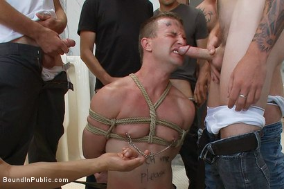 Photo number 4 from Cruising for Sex with Cameron shot for Bound in Public on Kink.com. Featuring Cameron Adams and Christian Wilde in hardcore BDSM & Fetish porn.