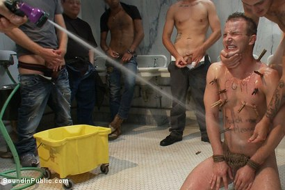 Photo number 8 from Cruising for Sex with Cameron shot for Bound in Public on Kink.com. Featuring Cameron Adams and Christian Wilde in hardcore BDSM & Fetish porn.