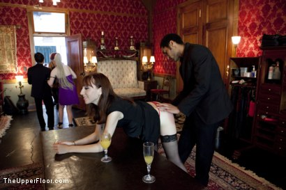 Photo number 1 from Stefanos' Brunch shot for The Upper Floor on Kink.com. Featuring Cherry Torn and Bella Rossi in hardcore BDSM & Fetish porn.