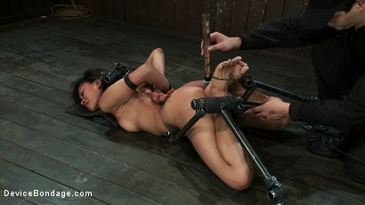 Photo number 13 from Foot Stinging + Ass Shaking  shot for Device Bondage on Kink.com. Featuring Yasmine de Leon in hardcore BDSM & Fetish porn.