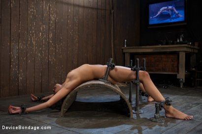 Photo number 1 from Bad Girl Rehab shot for Device Bondage on Kink.com. Featuring Yasmine de Leon in hardcore BDSM & Fetish porn.