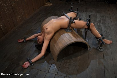 Photo number 6 from Bad Girl Rehab shot for Device Bondage on Kink.com. Featuring Yasmine de Leon in hardcore BDSM & Fetish porn.