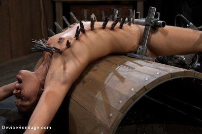 Photo number 8 from Bad Girl Rehab shot for Device Bondage on Kink.com. Featuring Yasmine de Leon in hardcore BDSM & Fetish porn.