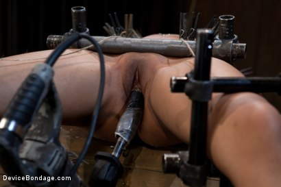 Photo number 9 from Bad Girl Rehab shot for Device Bondage on Kink.com. Featuring Yasmine de Leon in hardcore BDSM & Fetish porn.