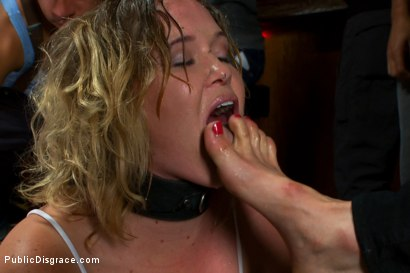 Photo number 3 from Cum Dump shot for Public Disgrace on Kink.com. Featuring Tommy Pistol and Sasha Knox in hardcore BDSM & Fetish porn.