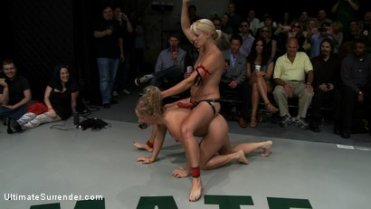Photo number 1 from ROUND FOUR: <BR>The Ninja's (2-0) vs The Pirates (0-2) shot for Ultimate Surrender on Kink.com. Featuring Vendetta, Tara Lynn Foxx, Dia Zerva and Jessie Cox in hardcore BDSM & Fetish porn.