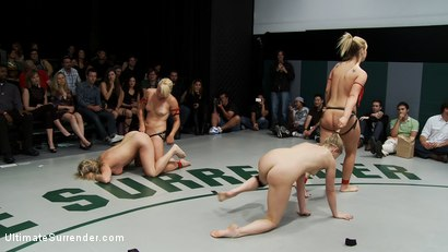 Photo number 14 from ROUND FOUR: <BR>The Ninja's (2-0) vs The Pirates (0-2) shot for Ultimate Surrender on Kink.com. Featuring Vendetta, Tara Lynn Foxx, Dia Zerva and Jessie Cox in hardcore BDSM & Fetish porn.