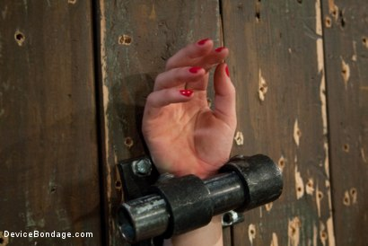 Photo number 4 from Machine Fucked Senseless for the Very First Time shot for Device Bondage on Kink.com. Featuring Juliette March in hardcore BDSM & Fetish porn.