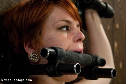 Photo number 3 from Machine Fucked Senseless for the Very First Time shot for Device Bondage on Kink.com. Featuring Juliette March in hardcore BDSM & Fetish porn.