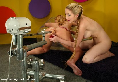 Photo number 12 from Jenni Lee and Chanta-Rose shot for Fucking Machines on Kink.com. Featuring Jenni Lee and Chanta-Rose in hardcore BDSM & Fetish porn.