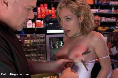 Photo number 3 from Shopping Day shot for Public Disgrace on Kink.com. Featuring Mark Davis and Lily LaBeau in hardcore BDSM & Fetish porn.
