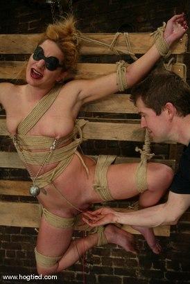 Photo number 13 from Jenni Lee shot for Hogtied on Kink.com. Featuring Jenni Lee in hardcore BDSM & Fetish porn.