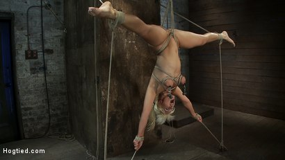 Photo number 1 from 5 Time Romanian National Gymnastic Champion.   Seriously! shot for Hogtied on Kink.com. Featuring Lea Lexis in hardcore BDSM & Fetish porn.