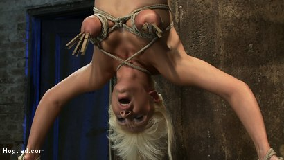 Photo number 8 from 5 Time Romanian National Gymnastic Champion.   Seriously! shot for Hogtied on Kink.com. Featuring Lea Lexis in hardcore BDSM & Fetish porn.
