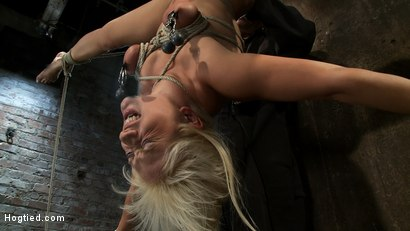 Photo number 5 from 5 Time Romanian National Gymnastic Champion.<br>Seriously!   shot for Hogtied on Kink.com. Featuring Lea Lexis in hardcore BDSM & Fetish porn.