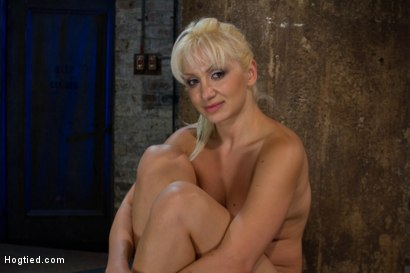 Photo number 14 from We put our Romanian gymnast champion<br>into the Scorpion Tie<br>and make her cum over and over. shot for Hogtied on Kink.com. Featuring Lea Lexis in hardcore BDSM & Fetish porn.
